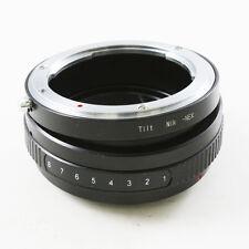 Tilt Nikon F mount AI AF Lens to Sony E NEX Adapter NEX-7 5 5R 5N 6 C3 F3 VG10E