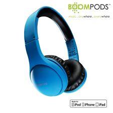 BOOMPODS Headpods MFi In Line Control Headphones for iPod iPhone iPad - Blue