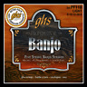 Set Strings Banjo 5 Strings Ghs PF110 Light Plated Nickel