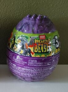 Mega Construx Breakout Beasts Series 3 Buildable Mystery Egg 129979TC