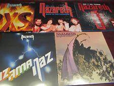 NAZARETH BACK TO THE TRENCHES + 180 GRAM HAIR OF DOG + RAZAMANAZ +BONUS 9 LPS