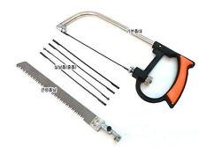 Multi-purposed Magic Saw Set Change Blades 5 Fret & 1 Large Saws 3 Way Blade V