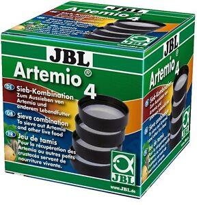JBL Artemio 4 4-teiliges Sieb-Set für Lebendfutter wie z. B. Artemia