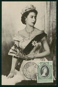 Mayfairstamps Jamaica 1953 Coronation QEII Maximum Card First Day Cover wwp79791