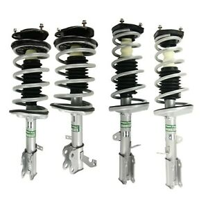 Front Rear Left Right Complete Strut Assembly for 93-02 Toyota Corolla