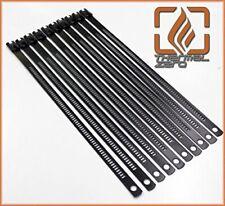 """Black Snap Strip Stainless Steel Zip Tie 10 Pack 14"""" Long"""