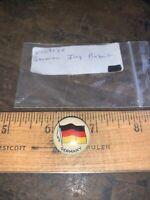 Vintage Germany flag pinback pin