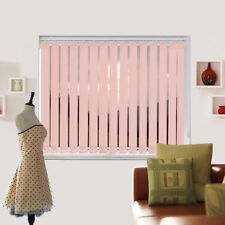 Blackout Baby Pink Made To Measure Vertical Blind - Best Price - Full Blind