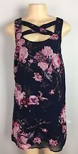 Lucca Couture Dress Floral Size Medium NEW Revolve Shift Dress Cut Out Sundress
