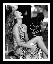 CELINE DION AUTOGRAPHED SIGNED & FRAMED PP POSTER PHOTO 1