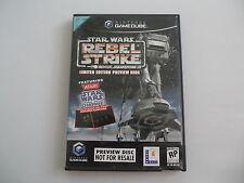 Star Wars Rogue Squadron III Preview Disc (NTSC) Nintendo Gamecube NGC CIB OVP