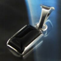 Onyx Silber 925 Anhänger Sterlingsilber Damen Schmuck A0113