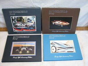 Set 4 Issues Automobile Quarterly Set Book Vol 25 1-4 1987 Auto 25th Anniversary