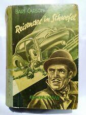Leihbuch Krimi - Reisender in Schwefel von Bart Carson - Hönne Verlag