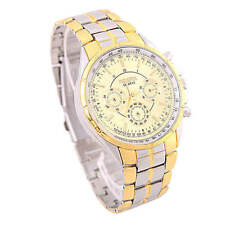 Gloss Stainless Steel Case Men's Analogue Wristwatches