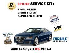para AUDI A5 1.8 2.0i TFSI 5 / 2007- > Servicio Aéreo De Aceite Kit Pollen