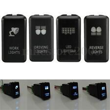 4x Push Button LED Light Bar Work Switch For Toyota Landcruiser Hilux Prado FJ