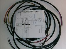IMPIANTO ELETTRICO ELECTRICAL WIRING MOTO GILERA GIUBILEO 98/150/175 GUAINA NERA