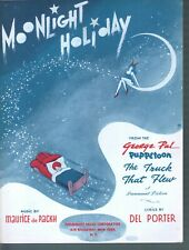 Moonlight Holiday 1943 The Truck That Flew Sheet Music