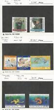Christmas Islands, Postage Stamp, #187-188, 316-318, 445-446 Mint Nh, Jfz