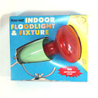 Penetray Red Christmas Floodlight With Fixture in Original Box