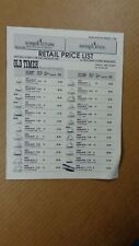 1991 SCHRADE -  IMPERIAL KNIVES Catalog RETAIL PRICE LIST THUMBNAIL PICTURES