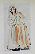 Audrey Mildmay-Zerlina en Don Giovanni Glyndebourne Mozart Opera Disfraz de impresión