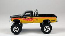 Matchbox Chevrolet K-1500 Pickup Truck Black / Yellow No Package
