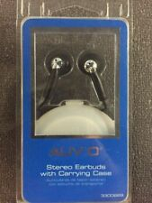 Auvio Stereo Earbuds With Carrying Case (in Ear) Wired Purple BRAND