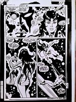 JOHN BUSCEMA  SILVER SURFER  CLASSIC 1960-1970s MARVEL COMICS  ART TRANSPARENCY