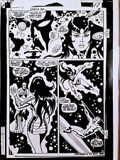 JOHN BUSCEMA  SILVER SURFER  CLASSIC 1960-70s MARVEL COMICS ART TRANSPARENCY