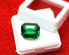 Tsavorite Garnet Emerald Cut Natural 10 Ct  Certified Loose Gemstone