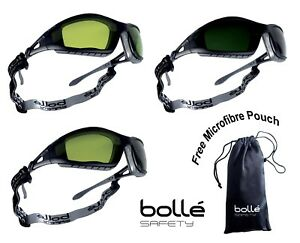 Bolle safety glasses spectacles TRACKER Safety Welding goggles Shade 1.7 / 3 / 5