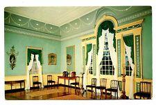 Banquet Hall Mount Vernon Postcard Virginia George Washington's Home Vintage