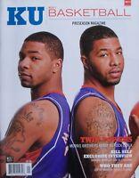 THE MORRIS TWINS 2010-2011 KU JAYHAWKS MEN'S BASKETBALL PRESEASON Magazine