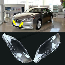 For Lexus ES250 2013-2014 2pcs Left and Right Front Kit Cover Lens Headlights