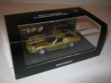 1:43 Lamborghini Miura P400 S 1968 gold L.E. 1 of 2010 MINICHAMPS 436103000  new