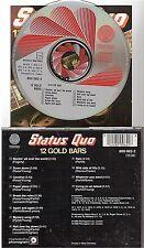 STATUS QUO 12 gold bars CD ALBUM west germany 800 062-2