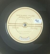 "DAVE & ANSIL COLLINS-Double Barrel-7"" 45rpm Vinyl Record-Old Gold-OG 9270-1982"