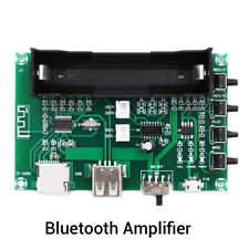 Bluetooth Power Amplifier Board PAM8403 Stereo AMP USB 18650 Battery Power PL