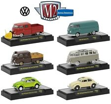1:64 M2 Machines *AUTO-THENTICS VW04* Volkswagen SET of 4 *CHANCE AT CHASE CAR*