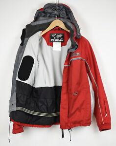 PHENIX FIS Men's ~LARGE* Thin & Lightweight Hooded Skiing Jacket 34111/GS