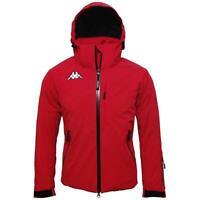 Kappa Men's 6Cento 650 Skiing Ski Winter Coat Jacket Slim Fit Red X Small