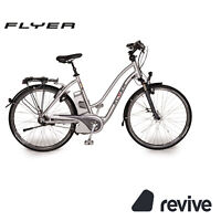 "FLYER L9 2011 E-City Bike Pedelec Fahrrad Silber RH 55cm 28"" Elektrofahrrad"