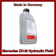 NEW Mercedes W123 W124 W126 R129 W140 W208 W210 1 Liter Hydraulic Fluid
