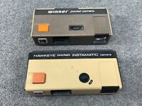 2 Vintage Kodak Pocket Cameras Early 1980s