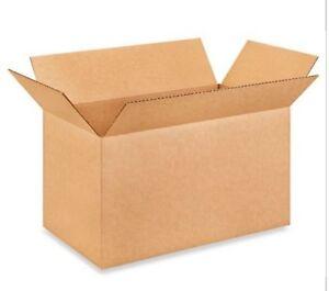 "18 x 10 x 10"" Corrugated Boxes 25/bundle"