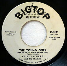 CLIFF RICHARD 45 The Young Ones/We Say Yeah BIG TOP pop/rock PROMO Ct 2951