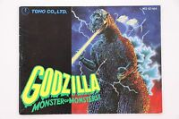 Godzilla: Monster of Monsters! NES Nintendo Manual Only