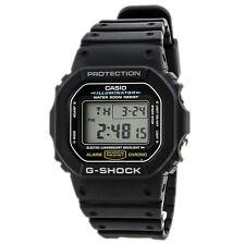 Casio DW5600E-1 Men's G-Shock Digital Black Resin 200M Dive Watch